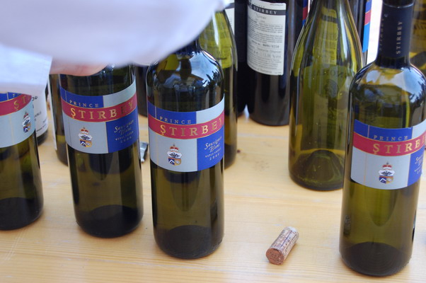 Sauvignon Blanc Vitis Vetus Stirbey 2006