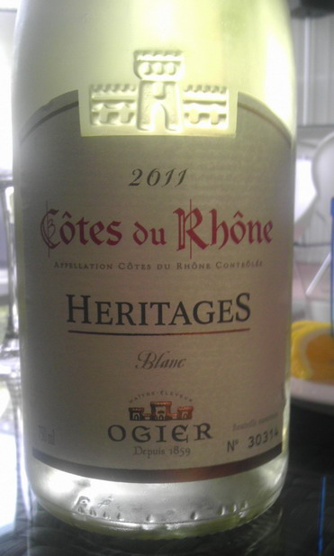 Ogiers Heritages Blanc