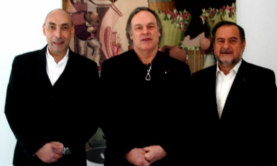 Michell Rolland, Robert Parker si Jair Agoian, patronul cramei bulgare Telish