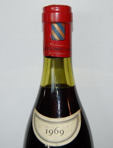 Billard Gonnet Bourgogne Pommard 1969