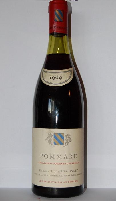 Billard Gonnet Pommard 1969