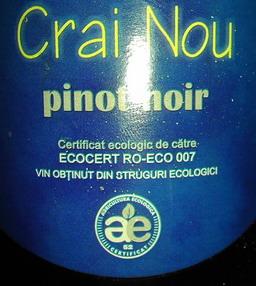 Pinot Noir Crai Nou 2008