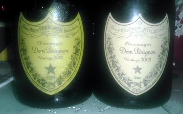 Dom Perignon 2002 2003