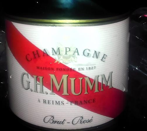 G H Mumm Rose