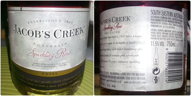 Jacobs Creek Sparkling Rose