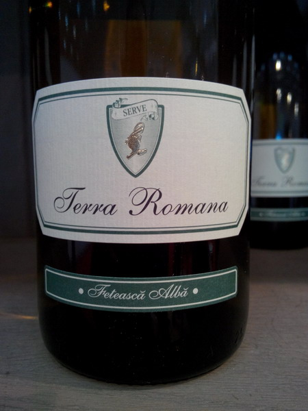 Feteasca Alba Terra Romana SERVE
