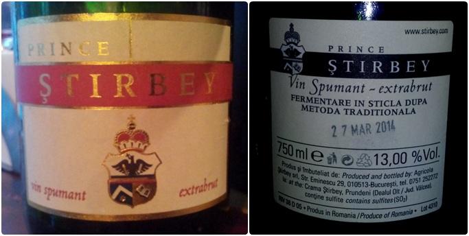 Stirbey Spumant Feteasca Regala