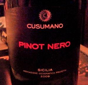 Cusumano Pinot Nero 2009_resize
