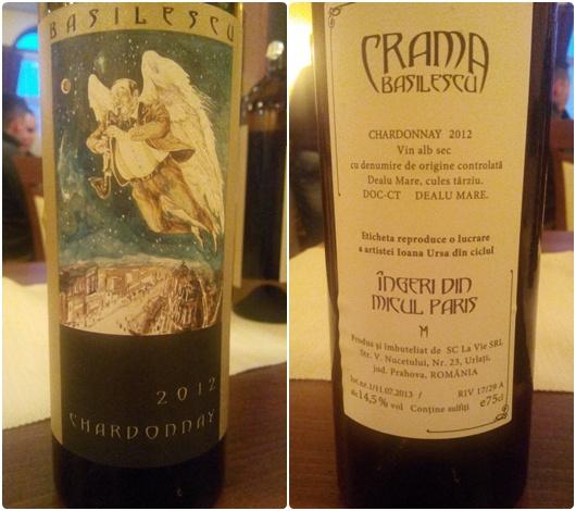 Basilescu Ingeri Chardonnay