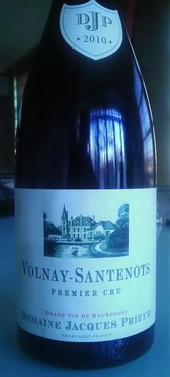 Jacques Prieur Santenots 2010