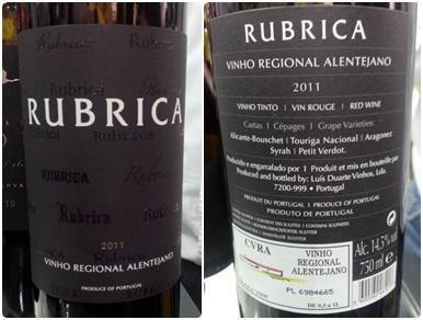 Luis Duarte Rubrica 2011