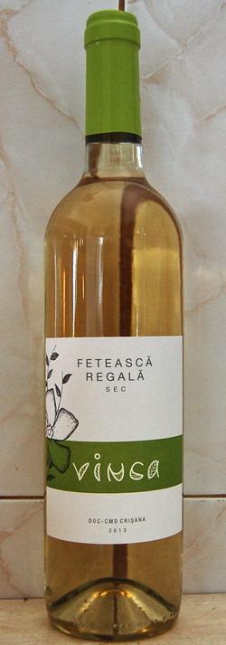 Vinca Wines Feteasca Regala