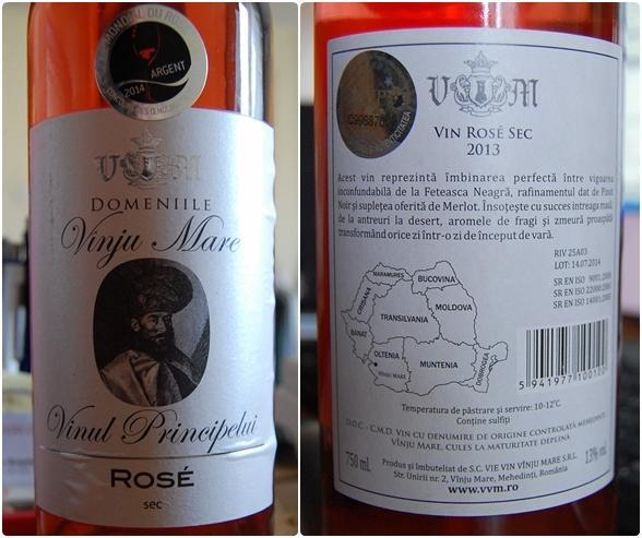 Domeniile Vinaju Mare Vinul Principelui Rose