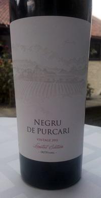 Negru Purcari Vintage 2011