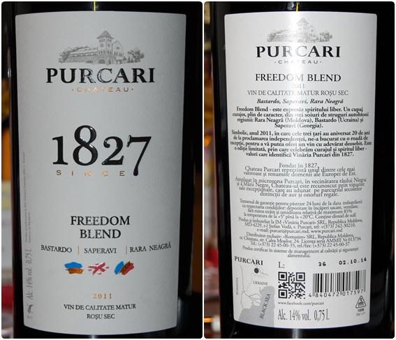 Purcari Freedom Blend