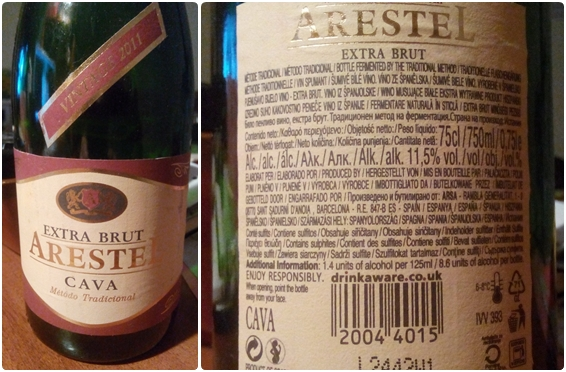 Cava Arestel Extra Brut 2011 Lidl