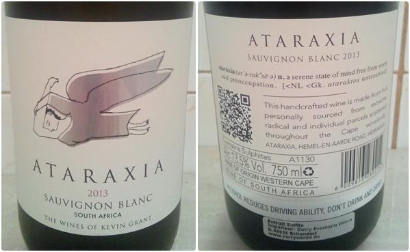 Ataraxia Sauvignon Blanc 2013