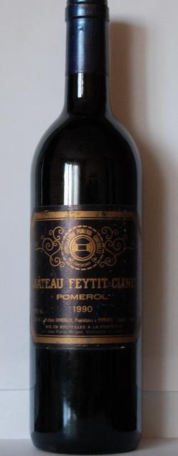 Chateau Feytit Clinet 1990