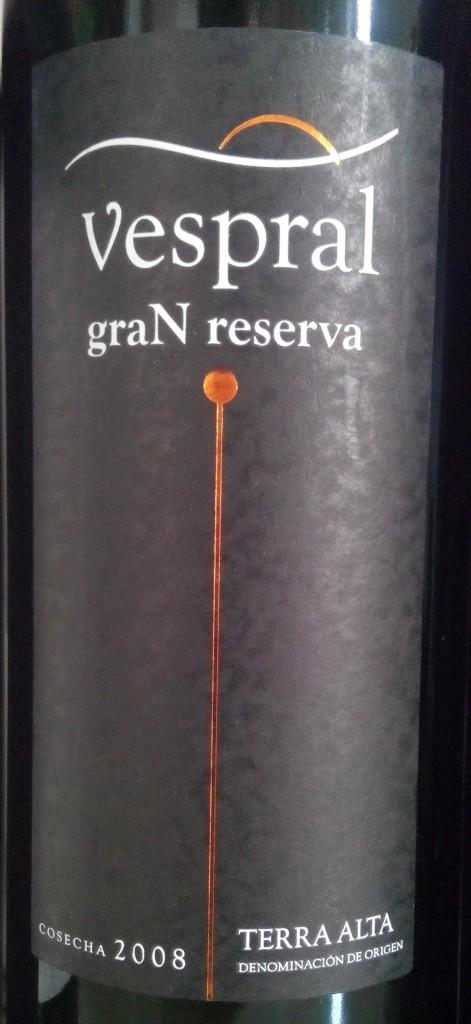 Vespral Gran Reserva 2008
