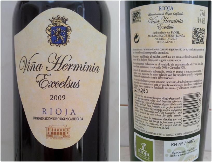 Vina Herminia Excelsus 2009