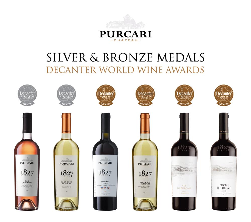 Medalii Decanter Purcari