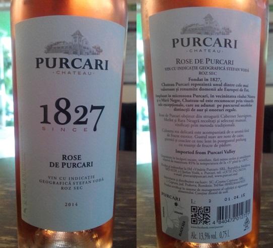 Purcari Rose 2014