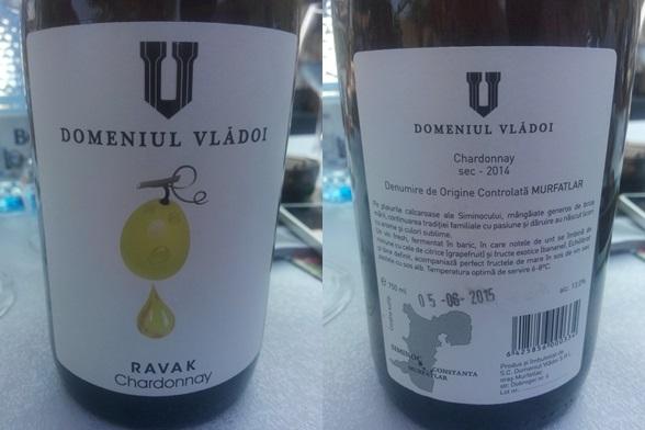 Domeniul Vladoi Ravak Chardonnay 2014