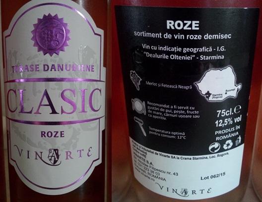 Vinarte Roze Clasic 2014