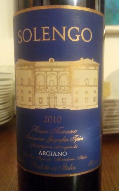 Argiano Solengo 2010